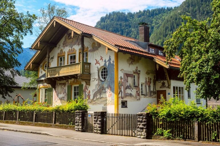 Oberammergau Lüftlmalerei