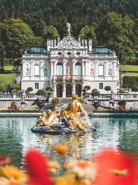 Schloss Linderhof Ammergauer Alpen